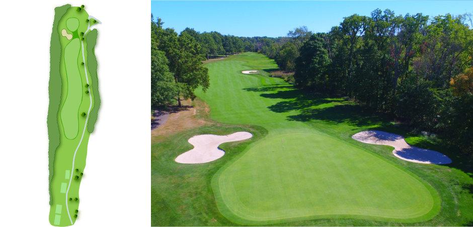 Walden Golf Club Aurora OH Hole 4