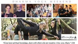 Dharma Yoga Weekend 2020